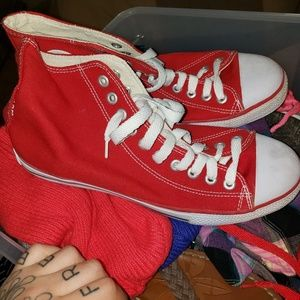 Other - Red sneakers